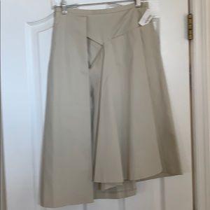 Michael Kors tan detailed skirt.